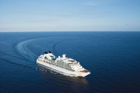 Seabourn Cruise Sojourn cruise ship aerial coronavirus