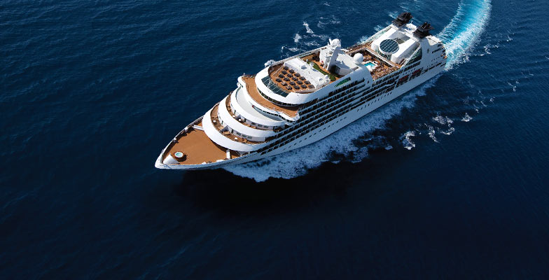Seabourn Cruises announced its 145-day world cruise in 2024