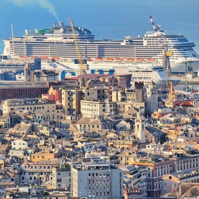 MSC Cruises Grandiosa Genoa Italy