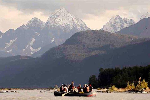 Alaska boat tour