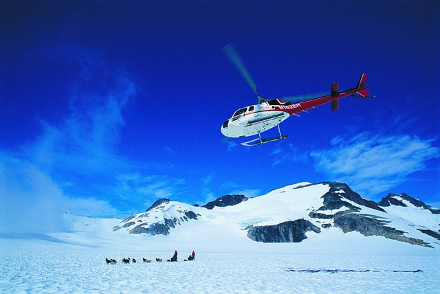 HollandAmerica Cruise Line Alaska Helicopter Flight