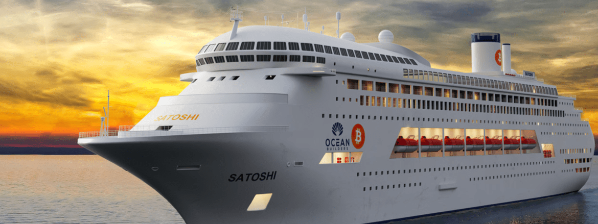 UPDATE: You can NOT buy a cabin on the MS Satoshi cruise ship for about $25,000