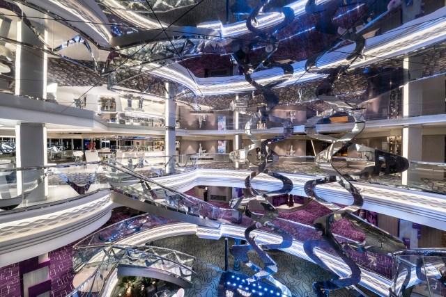 MSC Cruises Bellissima atrium