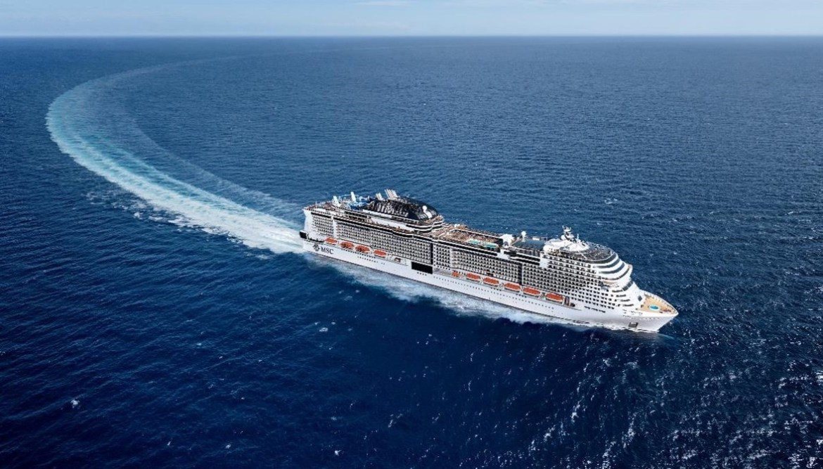 How MSC Cruises' new ships aim for zero impact on the environment
