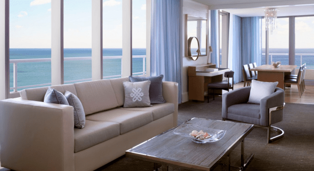 Ritz Carlton Fort Lauderdale Florida suite