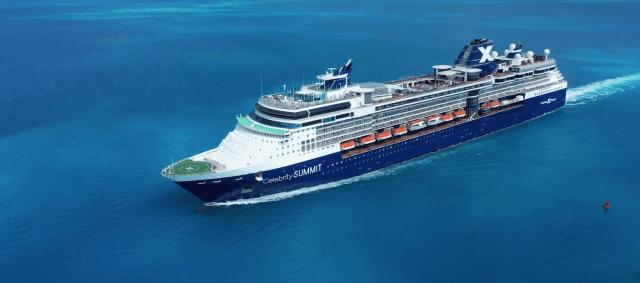 Celebrity Cruises Summit Port side