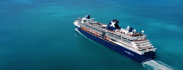 Celebrity Cruises Summit at sea