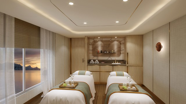 Seabourn expedition ships Spa Treatment Room