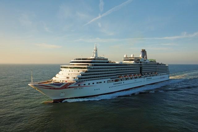P&O Cruises Arcadia livery