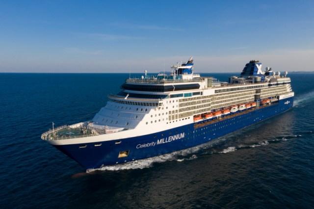 Celebrity Cruises Millennium aerial