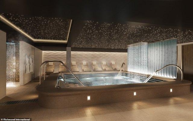 P&O Cruises Arvia Spa