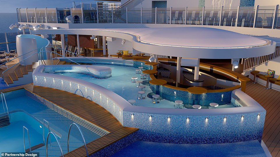 P&O Cruises releases images of new ship Arvia
