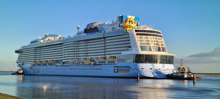 Royal Caribbean Odyssey of the Seas to cruise from Israel first