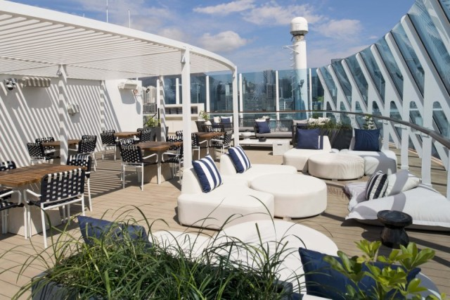 Celebrity Cruises Millennium cruise ship The Retreat