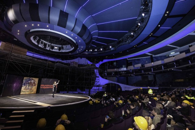 Celebrity Cruises Apex theater