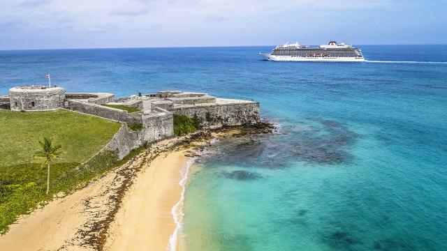Viking Cruises Sea cruise ship in Bermuda