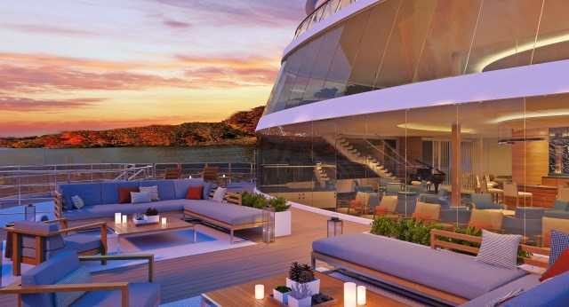 Viking River Cruises Explorers Lounge
