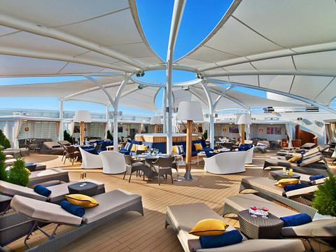 Seabourn Ovation cruise ship Retreat