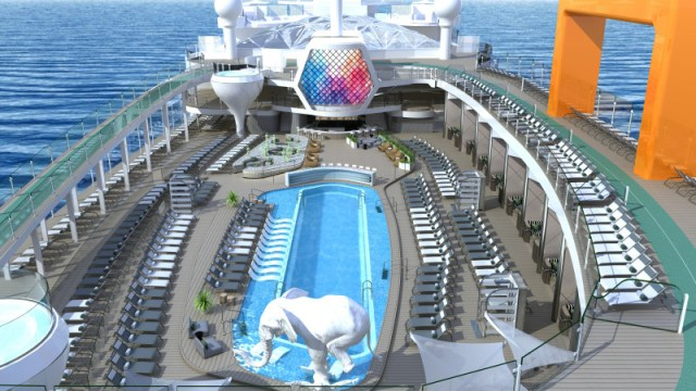 Celebrity Cruises Beyond cruise ship resort deck