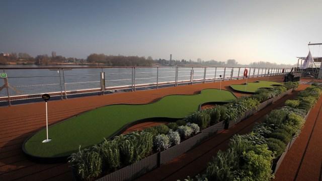 Viking River cruises european longships 2 herb garden