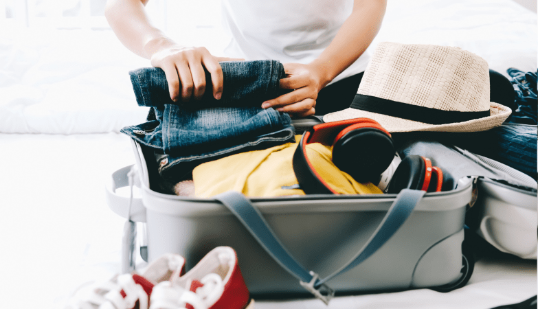 what to pack for a cruise to the UK suitcase packing checklist