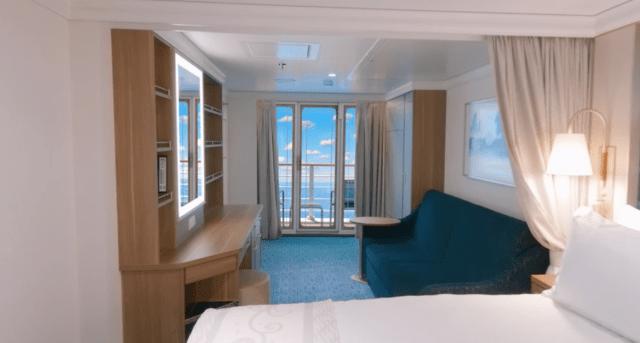 Disney Cruise Line Wish cruise ship cabin balcony