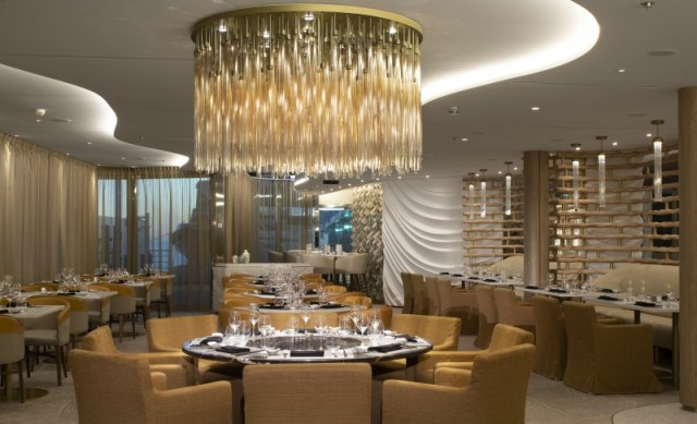 Celebrity Cruises dining chandelier how to save money on a cruise