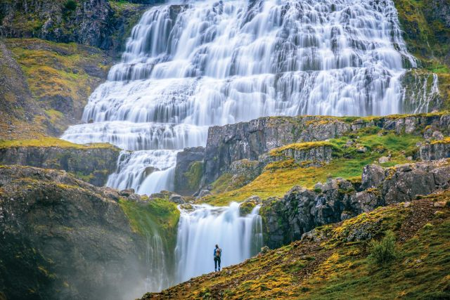 Waterfall Lindblad Expeditions National Geographic cruise ship