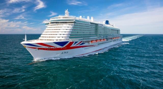 P and O cruises Iona