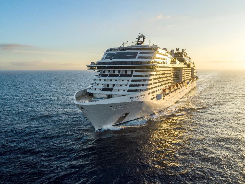 MSC Cruises Grandiosa adds Barcelona to its itinerary June 26