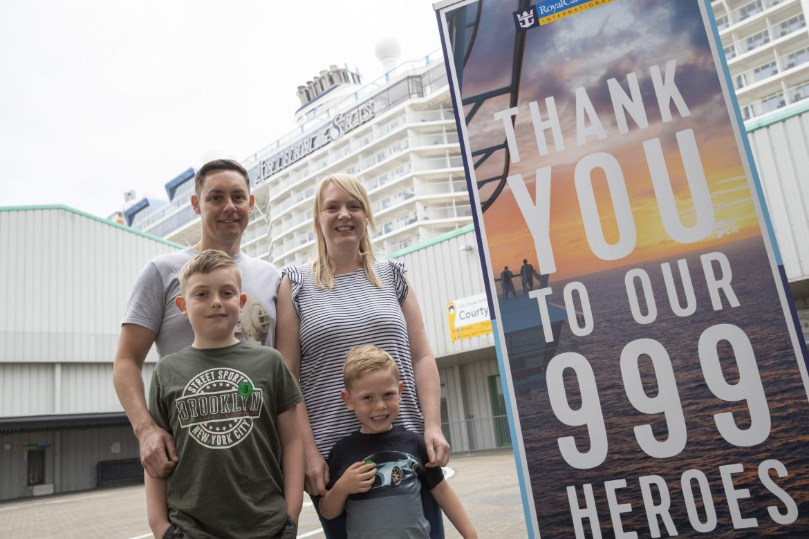 Royal Caribbean Anthem of the Seas cruises with 999 emergency service workers