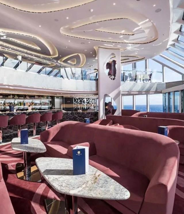 MSC Cruises seashore dining area