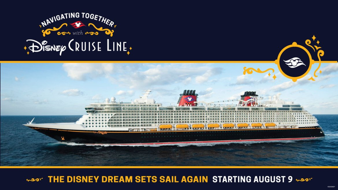 Disney Dream will cruise August 9 with these protocols