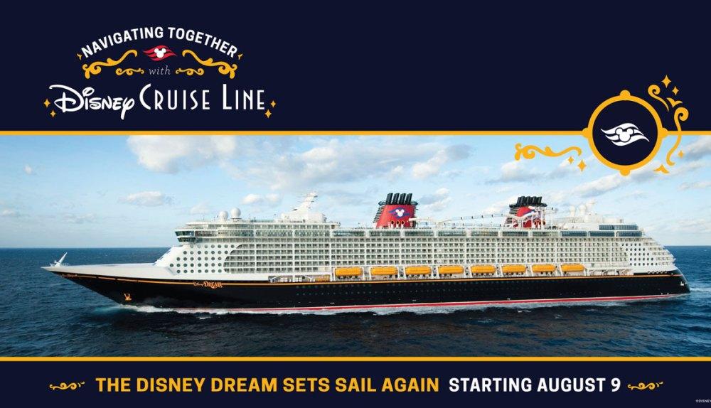 Disney Cruise Line Dream announced August 9 cruises to Bahamas