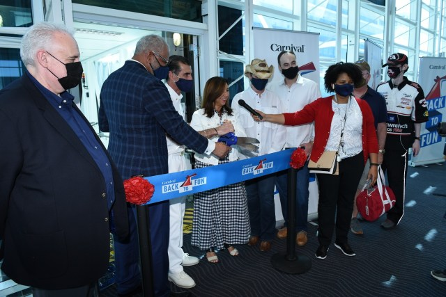 Carnival Horizons sails from Miami July 4 2021