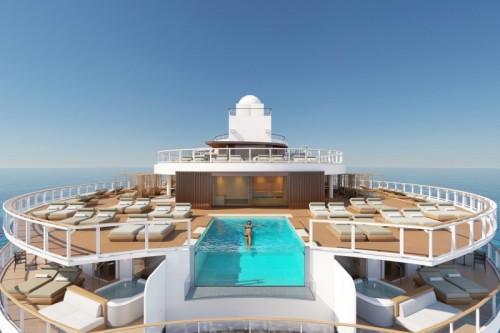 norwegian cruise line prima pool