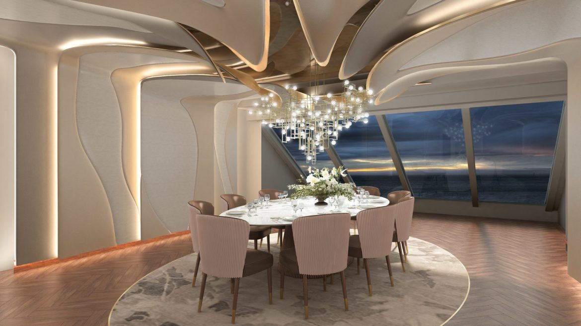 Oceania Cruises revealed the dining experiences on board its newest ship Vista