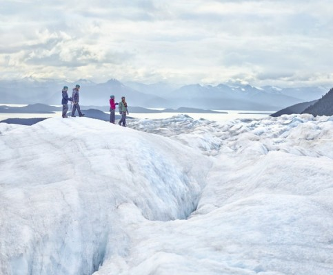NCL Cruises Bliss glacier