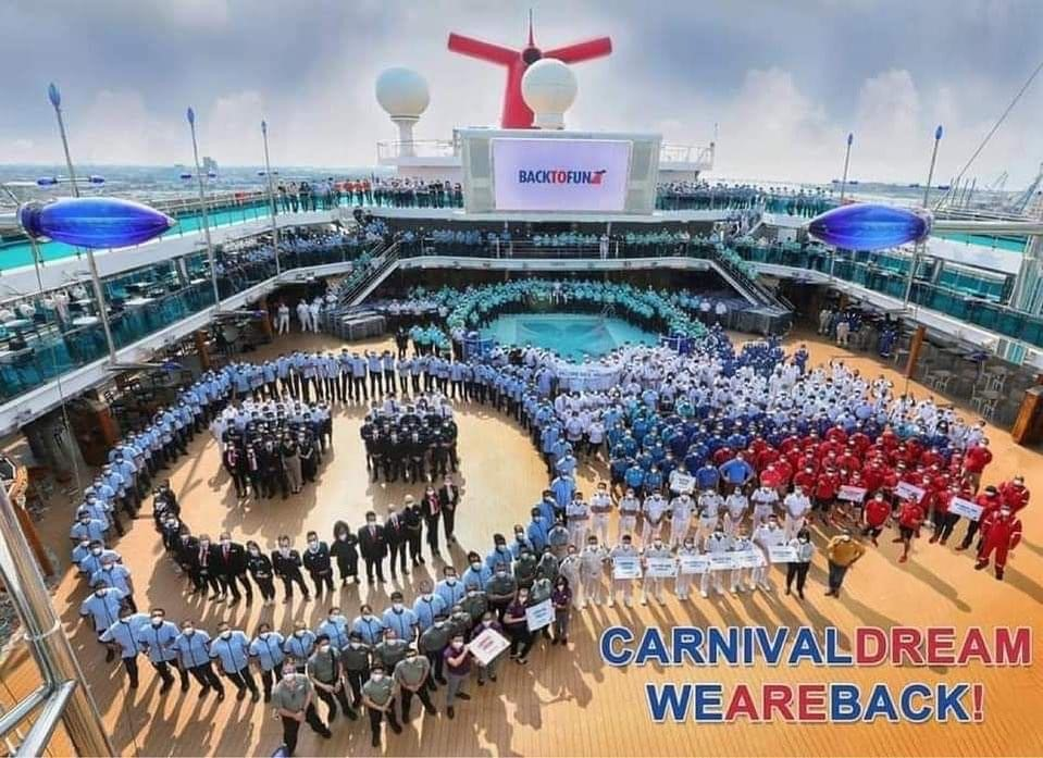 11 Carnival Cruise Line ships are back in service