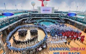 Carnival Cruise Line Dream crew