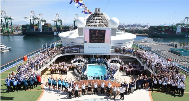 Grand Princess cruises from Port of Los Angeles