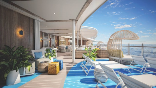 Royal Caribbean Wonder of the Seas sundeck view