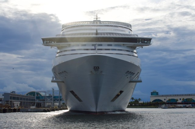 MSC Cruises Divina homeports in Port Canaveral Florida