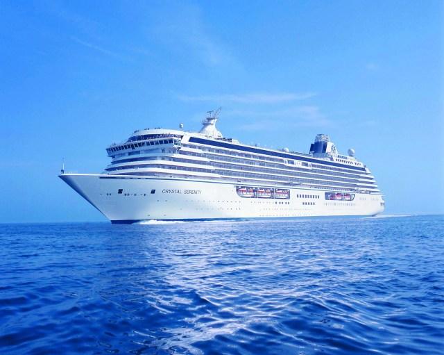 Crystal Cruises Crystal Serenity world cruise