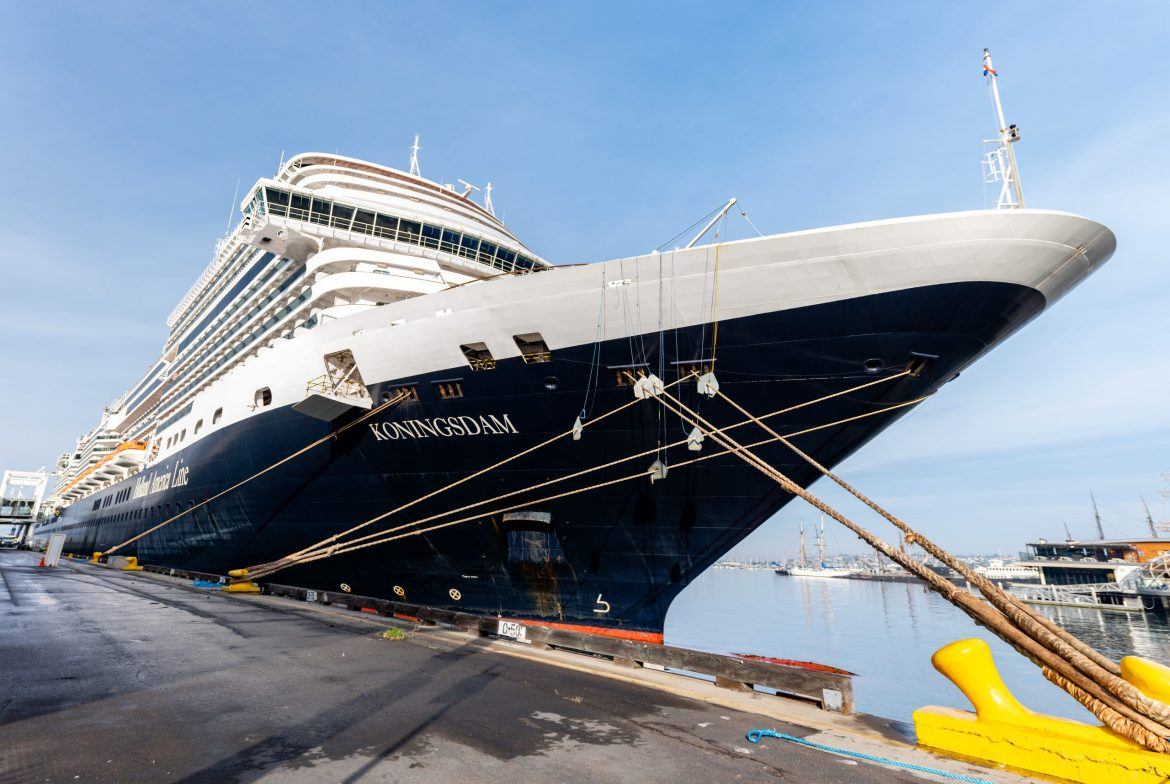 Holland America Line returns to west coast cruising with Koningsdam from San Diego