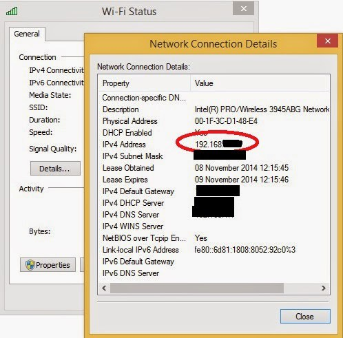 networkconnections1 - Hack Android Phones using AndroRat