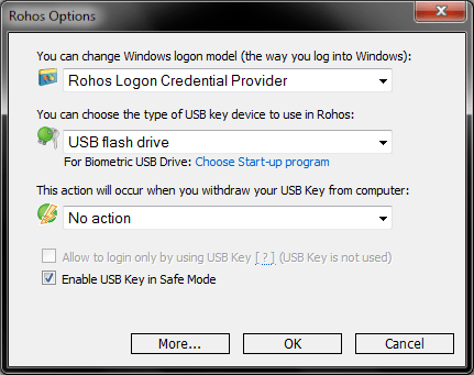 ROHOS KEY 4 - How To Lock And Unlock Your Computer Using USB Pendrive