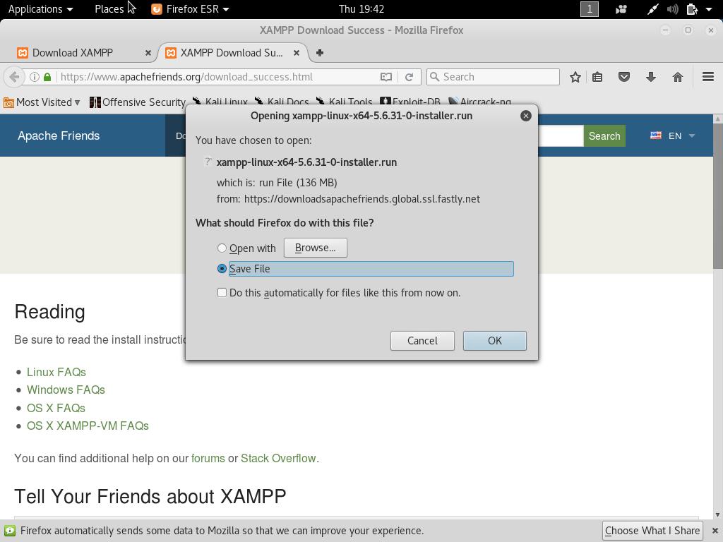 setup own pentesting environment - Setup own PenTesting Environment (DVWA) on your Kali Linux