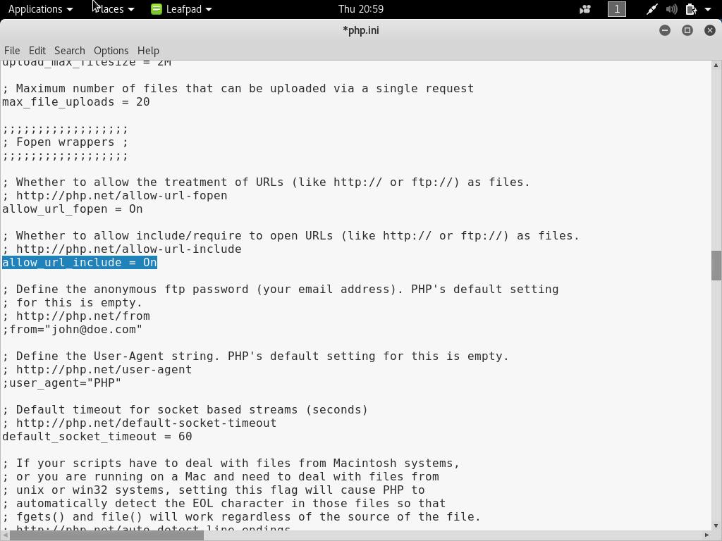 setup own pentesting environment12 - Setup own PenTesting Environment (DVWA) on your Kali Linux