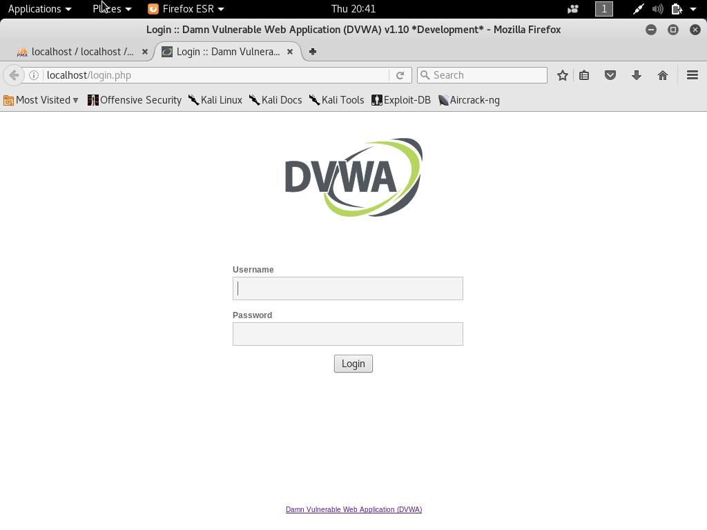 setup own pentesting environment8 - Setup own PenTesting Environment (DVWA) on your Kali Linux